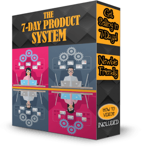 PRELAUNCH SPECIAL - The 7-Day Product System by Shawn Hansen