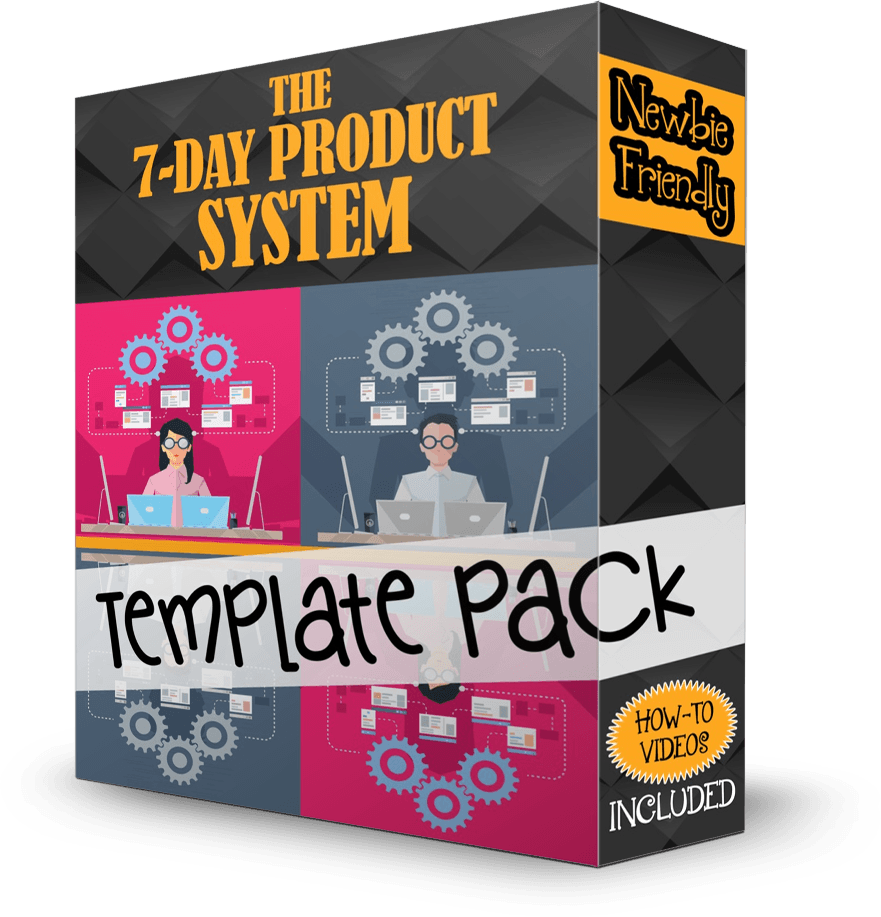 The 7-Day Product System Template Pack by Shawn Hansen