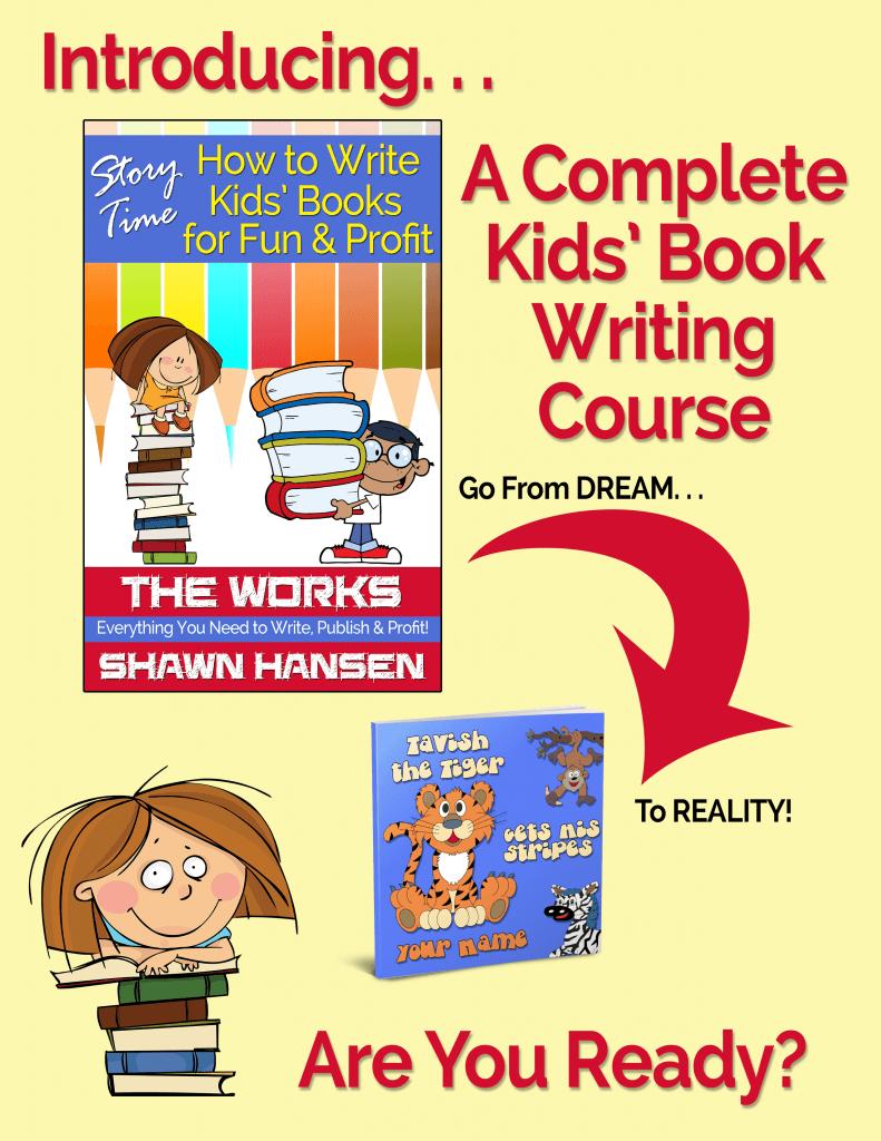 Story Time: How to Write Kids' Books for Fun & Profit Course Preview by Shawn Hansen